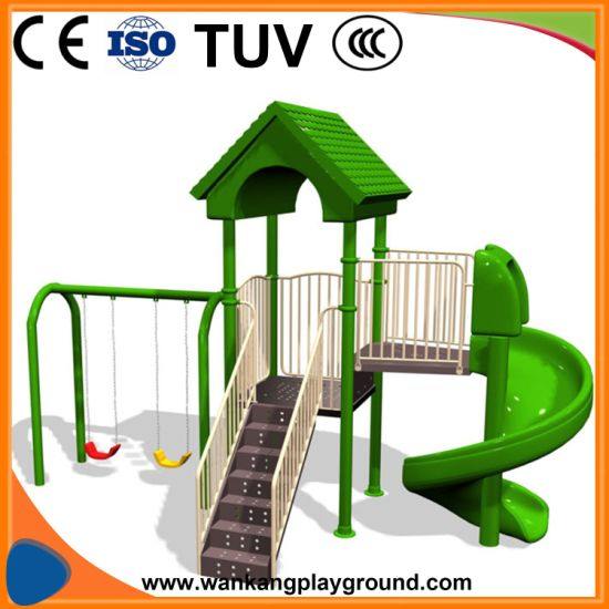 China Baby Toddler Swing Set Outdoor Indoor Playground Factory Wk
