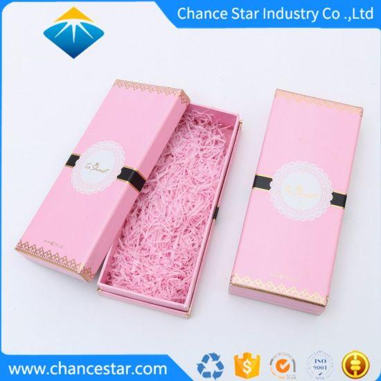 Custom Rigid Cosmetics Gift Packaging Paper Cardboard Box