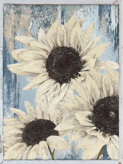 Large Hand Painted Sunflowers Wall Art Modern Wooden Oil Painting Contemporary Decor Artwork (30X 40 inch) GF-P190527133 pictures & photos