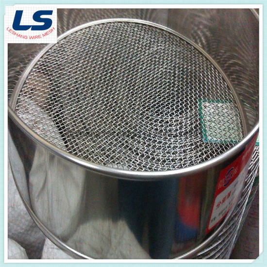 Doubl Layer Frame Test Sieving Wire Mesh