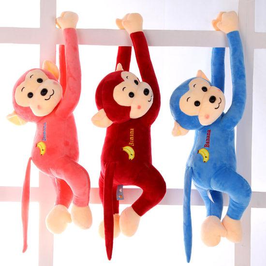 Customized Wholesale Plush Monkey Character Stuffed Toys