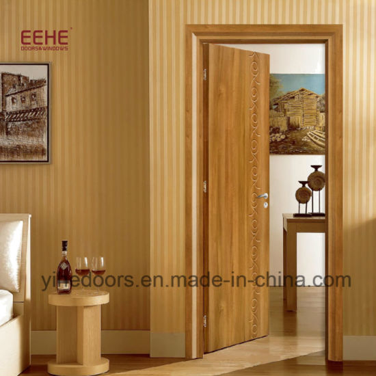 China Interior Mdf Pvc Wood Door For Bedroom Use China Mdf Wooden