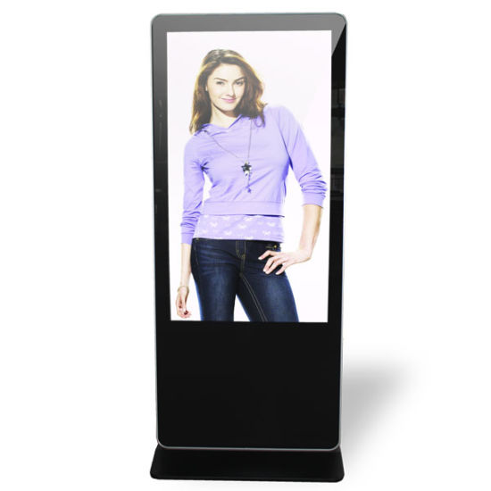 55 Inch Interactive Advertising Display Digital Signage Vending Machine Panel with RGB 8-Bit Multi-Touch Screen