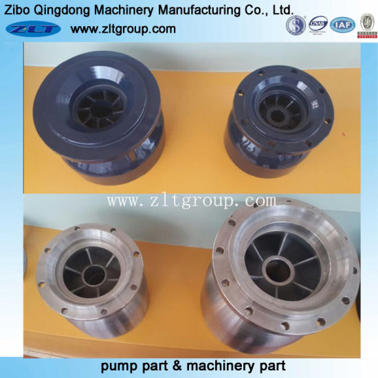 Stainless Steel/Cast Iron Submersible Pump Bowl in Sand Casting
