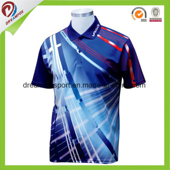 china digital print sport tshirts cricket cheap new
