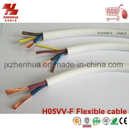 China PVC Flexible Copper Wire 3core 4core 5core 1.5mm 2.5mm 4.0mm ...
