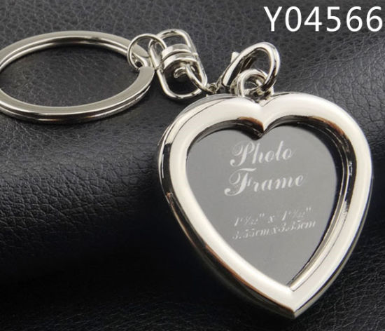Promotional Creative Photo Frame Key Chain with Custom Photo pictures & photos