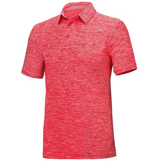 Mens Dry Fit Athletic Short-Sleeve Polo Shirts Wholesale Factory