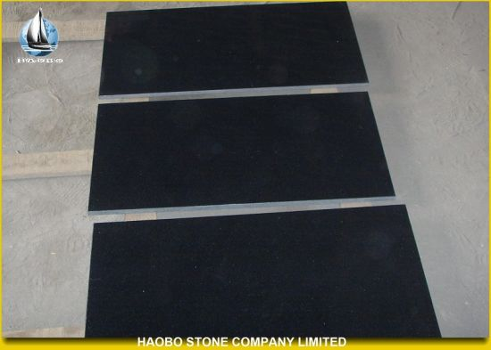China Black Galaxy Floor Thin Tiles China Black Galaxy Black