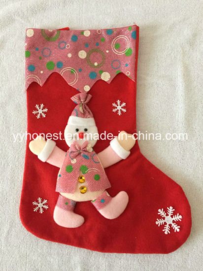 large customized wholesale bulk animal christmas socks - Wholesale Large Christmas Decorations