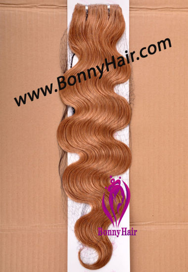 100% Virgin Remy Human Hair Skin Weft, PU Tape Hair Weft, Hand Tied Skin Weft, Body Wave, Best Quality, Factory Price, Hair Extension pictures & photos