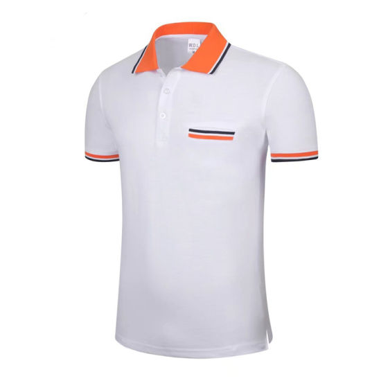 Custom T Shirt Printing Promotional Shirts With Logo Brand Embroidery Designs Polo China Wholesa