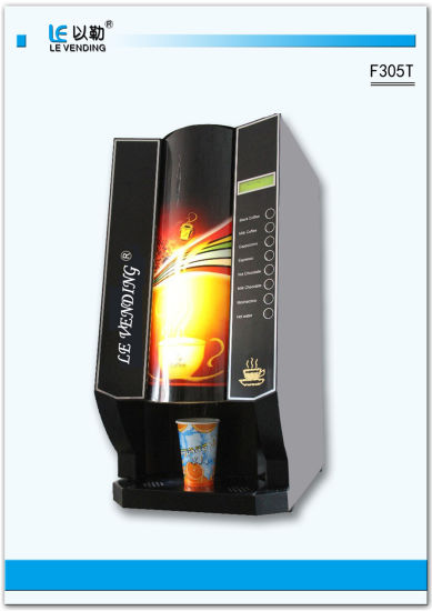 High Quality Hot Chocolate Coffee Vending Machine (F305T)