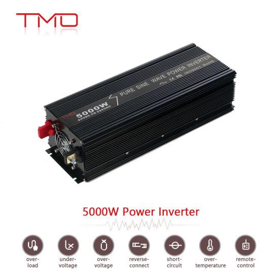 china 24v dc 220v ac 5000 watt pure sine wave inverter for home rh zjguanyou en made in china com