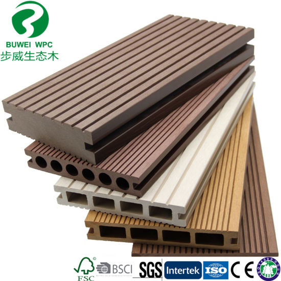 Factory Wholesale Outdoor WPC Wood Plastic Composite Decking