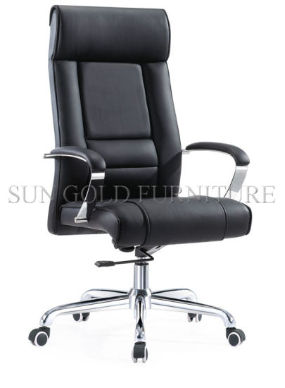 Prices for Office Chairs Black Leather PC Gaming Chair (SZ-OCE142) pictures & photos