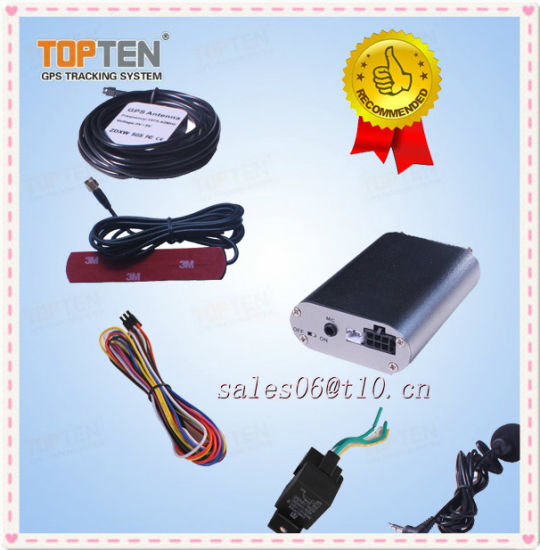 China Car Tracker with Remote Engine Stop, Call to Get