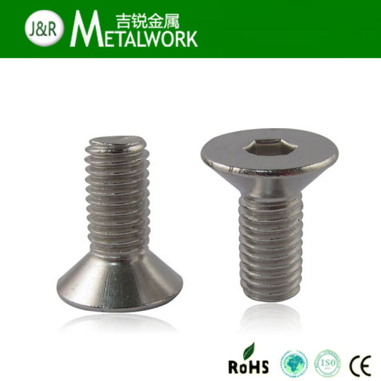 Stainless Steel Hex Socket Countersunk Head Screw (DIN7991) pictures & photos