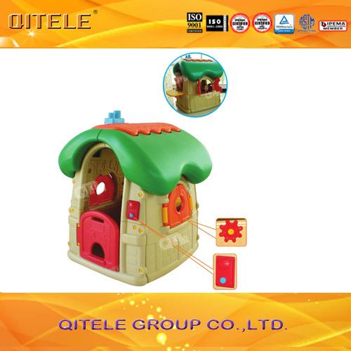 Indoor Children Plastic Toy House (PT-006)