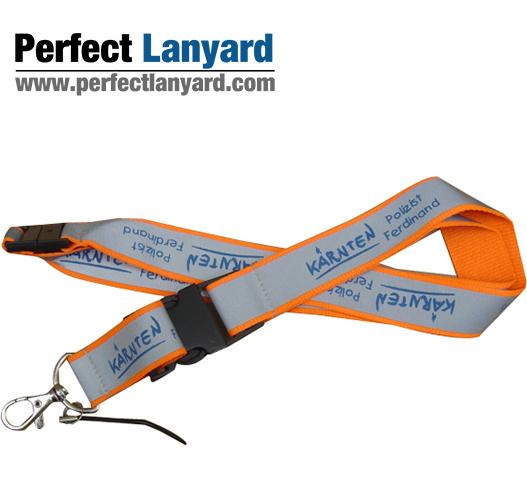 Promotional Reflective Lanyard, Neck Strap, Polyester Card, Sublimation Lanyard