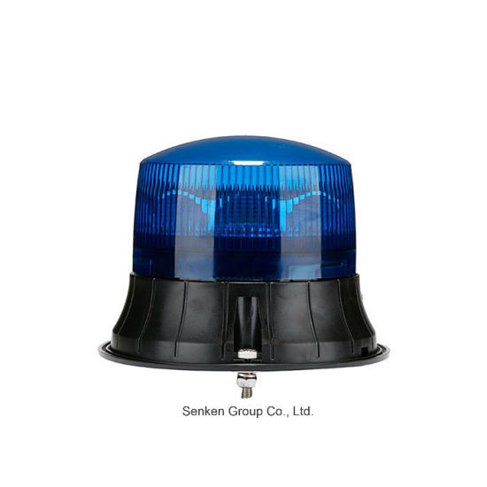 Senken IP 65 and ECE R65 12V/24V Flash LED Light Rotating Strobe Warning Flashing Beacon for Police and Other Vehicles