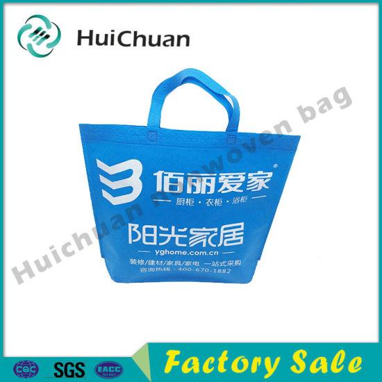 Custom Design Flower Embossed Recycle Non Woven Bag