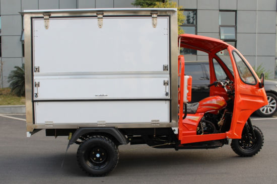 2018 New Mobile Shop Adult Cargo Tricycle