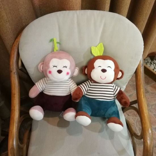 Customized Monkey Soft Toy Promotion Gift Factory pictures & photos