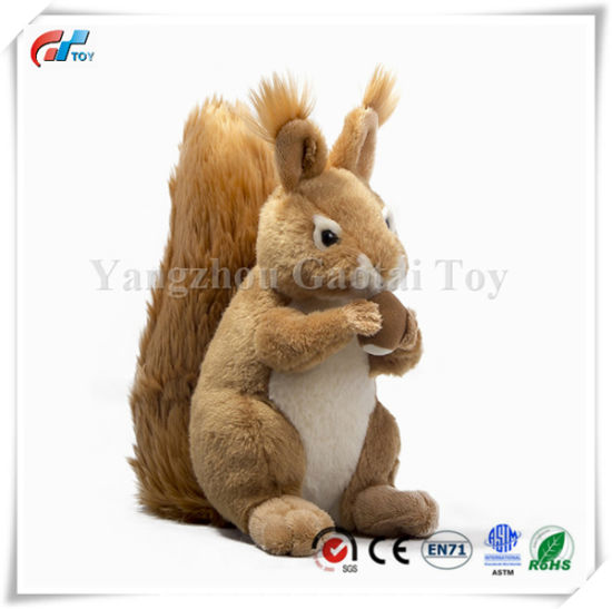 9 Inch Stuffed Animal Plush Squirrel Toy