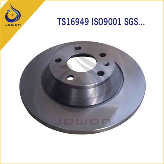CNC Machining Auto Spare Part Front Brake Disc pictures & photos