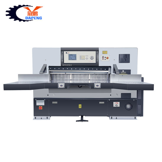 130cm Program Control Double Hydraulic Paper Industrial Guillotine Cutting Machine (QZYK1300D-8)