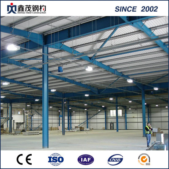 Big Prefab Building Prefabricated Steel Structural Building for Warehouse