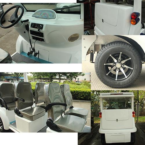 Hybrid Generator Electric Utility Car Del6062k 6 Seater