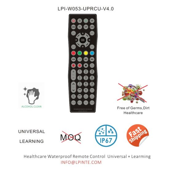 TV Universal Remote Control IP67 Also Programmable