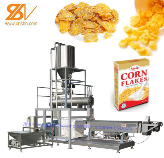 Cereal Flakes Processing Line (Choco Pops Machine) pictures & photos