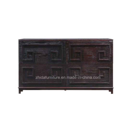 Oriental Antique Furniture Hand Painted Lacquer Cabinet with Storage - China Oriental Antique Furniture Hand Painted Lacquer Cabinet With