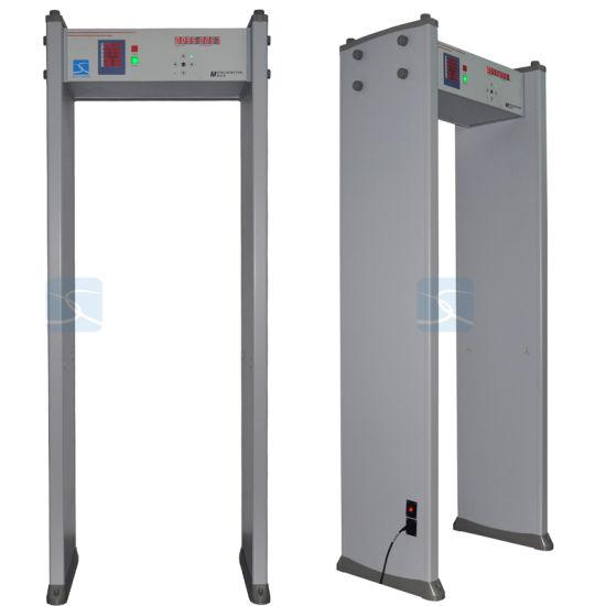 China 33 Zones Door Frame Archway Security Walk Through Metal ...