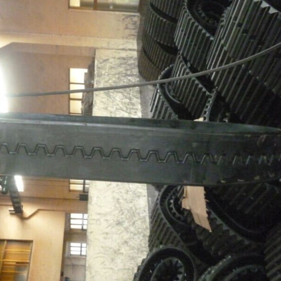 Rubber Track for Paver Blaw Knox PF4410 (356-152.4-46) pictures & photos