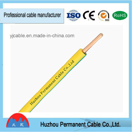 china single core solid copper aluminum conductor pvc insulated bv rh yjcable en made in china com