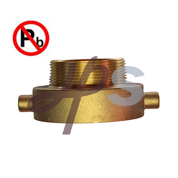 NSF-61 Approved Low Lead Brass Fire Coupling pictures & photos