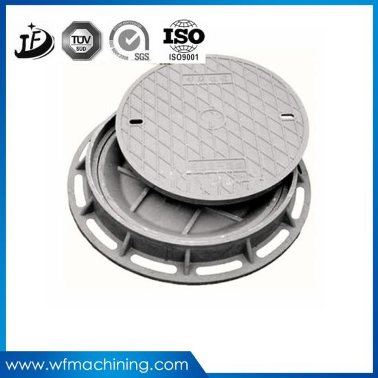 Round Ductile Iron/Sand Manhole Covers of Chins Manufacturer pictures & photos