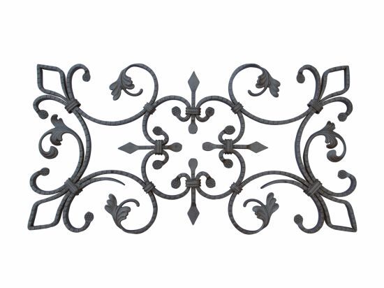 Wrought Iron Gate Forged Elements