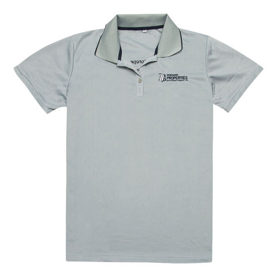 China 100 Polyester Sports Dri Fit Customized Embroidery Polo