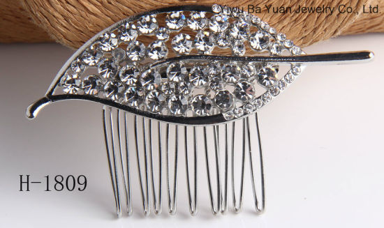 2019 Fashion Accessories New Design Bridal Crystal Hair Comb for Wedding Bridal Gift pictures & photos