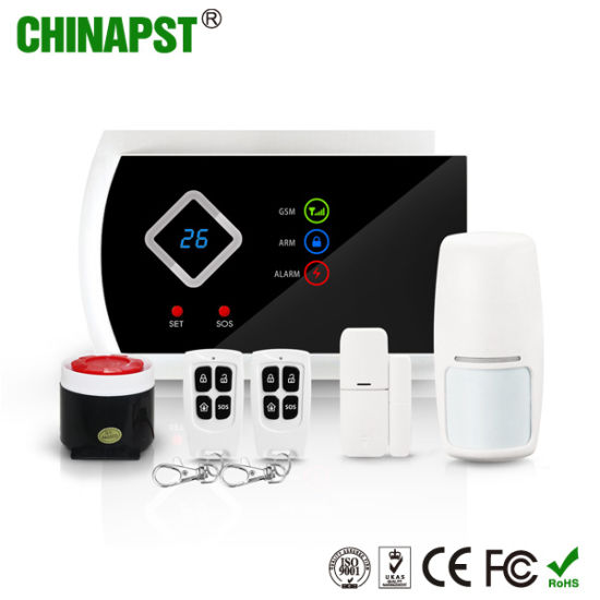 2018 China Wireless Security GSM Home Alarm System (PST-G10A)