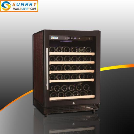 Vertical Wood Wine Cooler Cabinet