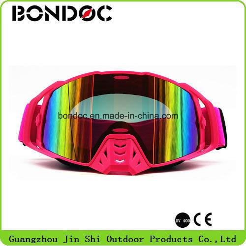 TPU Frame Anti UV Coating Lens Motocross Ski Goggles