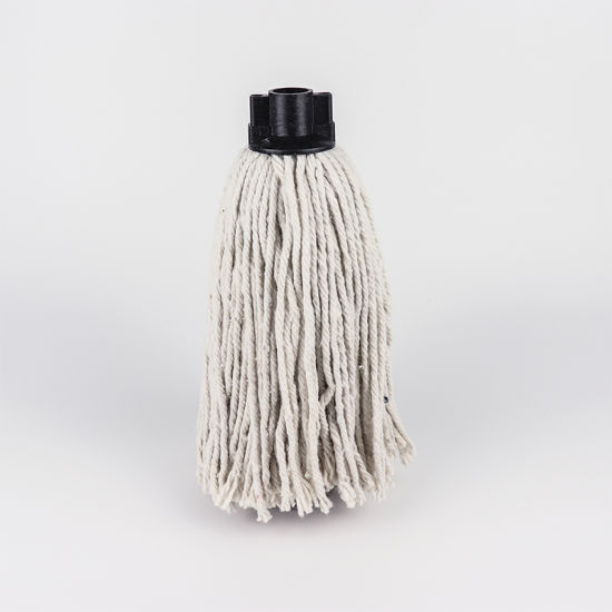 Wholesale Household Wet Floor Plastic Cleaning Cotton String Mop pictures & photos