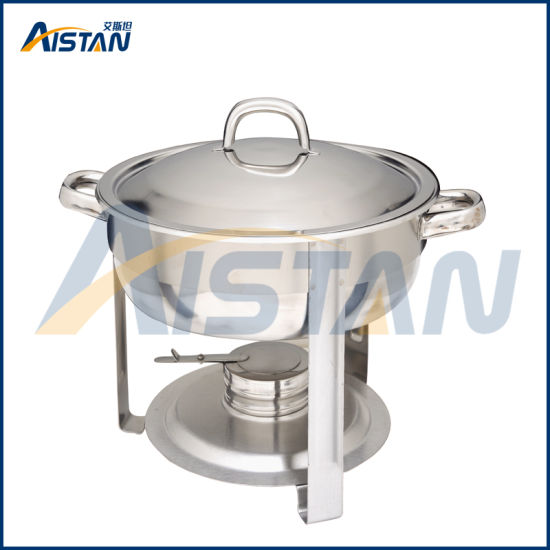 Zc804-1 Electric Stainless Steel Restaurant Buffet Chafing Dish with Cover for Catering Equipment