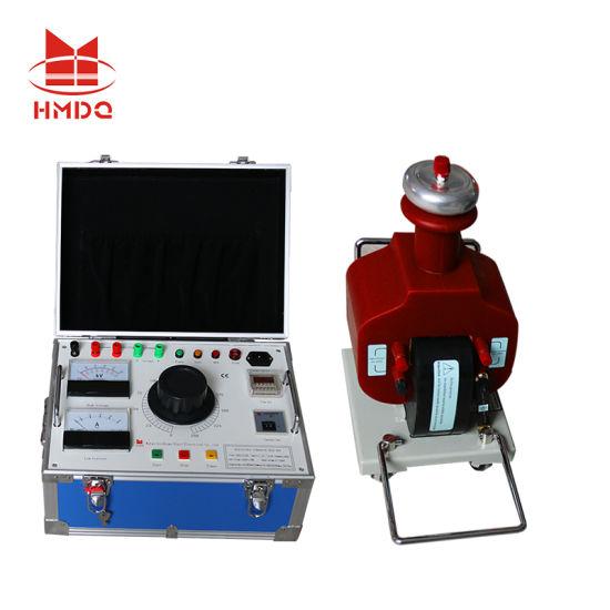 Factory Price Dry Type 1 5kVA 50kv AC High Voltage Testing Transformer